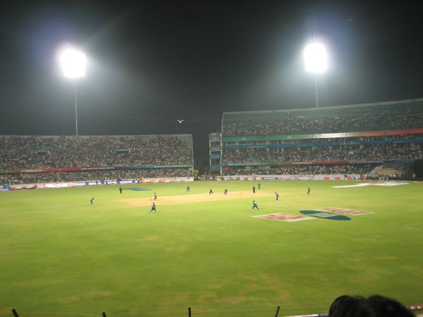 That's the last ball of the innings