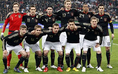 Wm Kader Deutschland