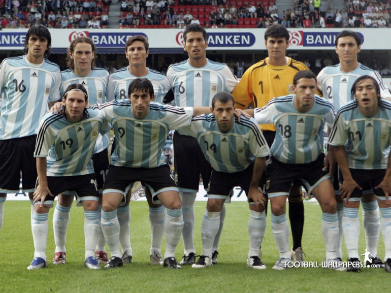 Argentina Squad (courtesy: WallpaperTv)